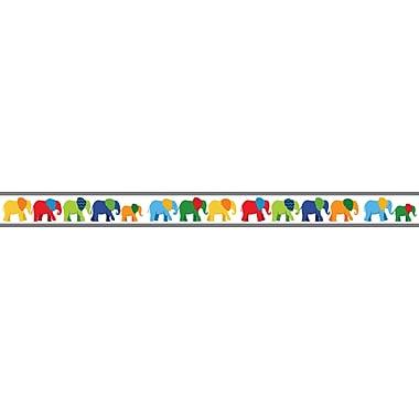 Carson-Dellosa Parade of Elephants Straight Borders, 12/pack (108205)