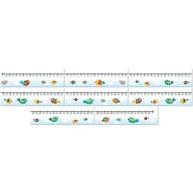Carson-Dellosa Boho Birds Number Line Bulletin Board Set (110260)
