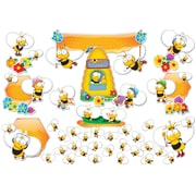 Carson Dellosa Buzz Worthy Bees Bulletin Board Set, 67 Pieces/Set by