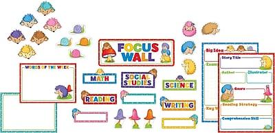 Carson-Dellosa Happy Hedgehogs Focus Wall Bulletin Board Set, 31 Pieces/Set