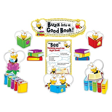 Carson-Dellosa BuzzWorthy Bees Reading Bulletin Board Set (110283)