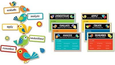 Carson-Dellosa Higher-Order Thinking Skills Bulletin Board Set, 25 Pieces/Set