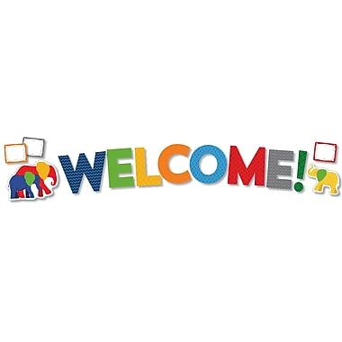 Carson-Dellosa Parade of Elephants Welcome Bulletin Board Set (110303)