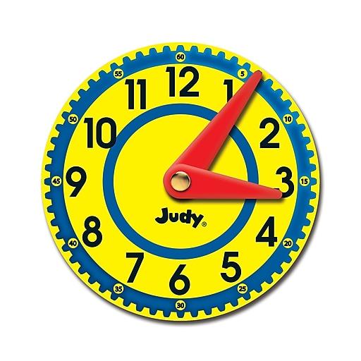 Carson-Dellosa Judy Clocks Cut-Outs, 36/Pack