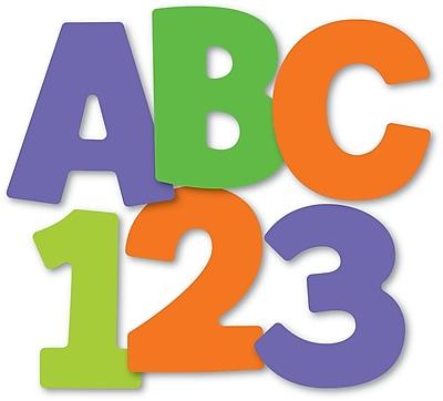 Carson-Dellosa Color Splash EZ Letters, 76/Pack
