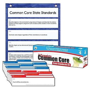 Carson-Dellosa Complete Common Core State Standards Pocket Chart, Grade 4
