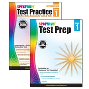 Spectrum Test Prep and Practice Classroom Kit for Grade 1