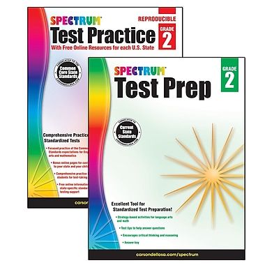 Spectrum Test Prep and Practice Classroom Kit for Grade 2