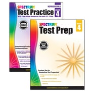 Spectrum Test Prep and Practice Classroom Kit for Grade 4