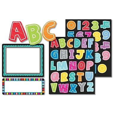 Carson-Dellosa Colorful Chalkboard Label Stickers, 7.5