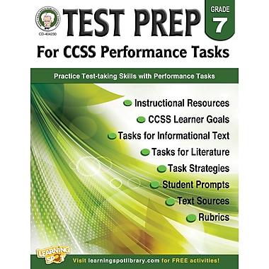 Carson-Dellosa Mark Twain Test Prep for CCSS Performance Tasks Resource Book for Grade 7 (404230)