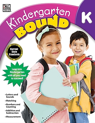 Thinking Kids Kindergarten Bound Workbook