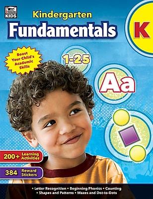Thinking Kids Kindergarten Fundamentals Workbook