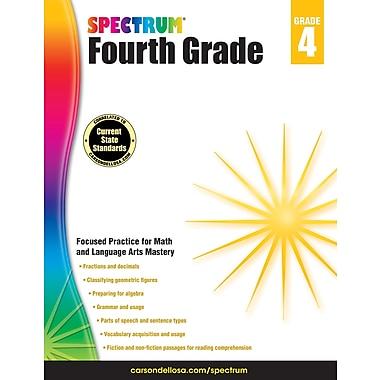 Carson-Dellosa Spectrum Grade 4 Workbook (704654)