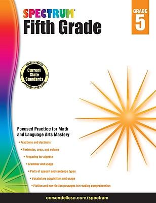 Spectrum Grade 5 Workbook
