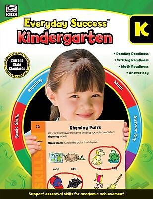 Thinking Kids Everyday Success Workbook for Grade K