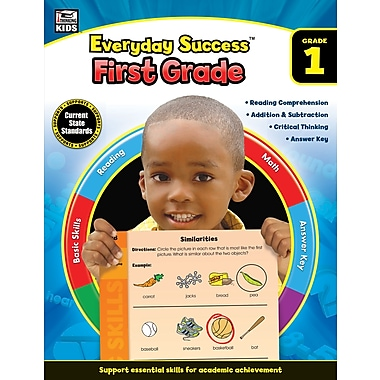 Thinking Kids Everyday Success Workbook for Grade 1