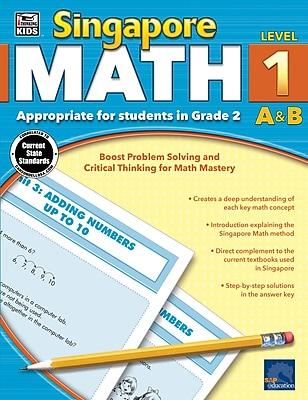Thinking Kids Singapore Math Workbook for Grade 2