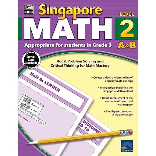 Thinking Kids Singapore Math Workbook for Grade 3