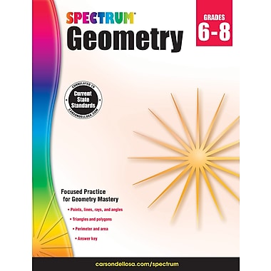 Carson-Dellosa Spectrum Geometry Workbook (704704)