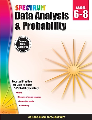 Spectrum Data Analysis and Probability Workbook