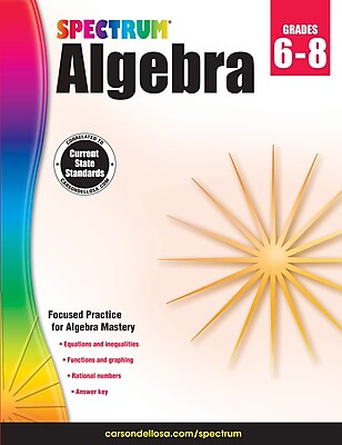Spectrum Algebra Workbook