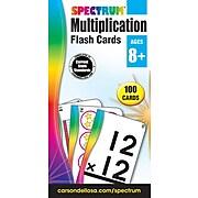 Spectrum Flash Cards, Multiplication, 100/Pack (734056)