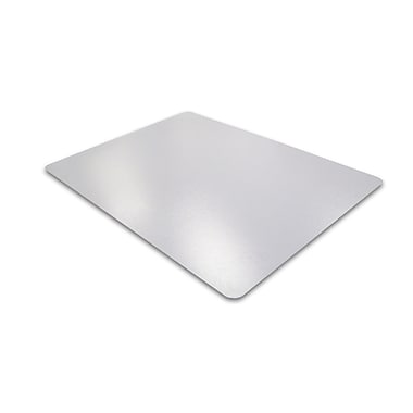 Floortex 1130023ER XXL Polycarbonate Chairmat, Rectangle, 48