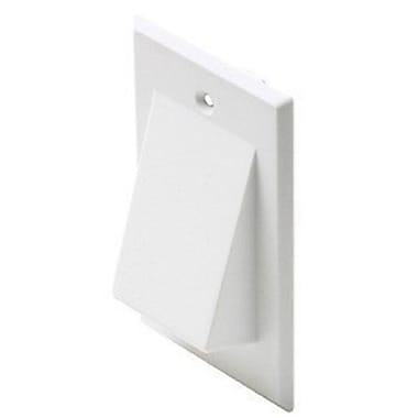 Digiwave Network Cable Pass Through Wall Plate, 0.1