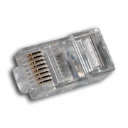 Digiwave – Connecteur RJ45 8P8C, 0,1 x 0 x 0 po, transparent, paq./100
