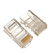Digiwave – Connecteur Keystone CAT5 8P8C, 1,2 x 1,2 x 0 po, transparent, paq./100
