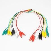 "Digiwave Jumper Test Lead Cable, 1"" x 1"" x 10"", Multicolour, 5/Pack"