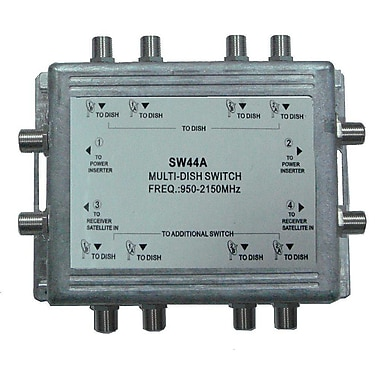 Digiwave Multiswitch for Satellite Dish (4 in 4 out), 1.3