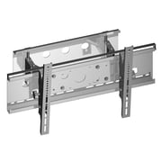 "TygerClaw Tilt&Swivel Wall Mount for 36"" - 55"" TV, 20"" x 30.4"" x 5.2"", Silver"