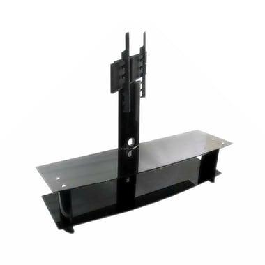 TygerClaw – Meuble pour téléviseur de 30 à 50 po, 29,5 x 68,9 x 35,4 po, noir