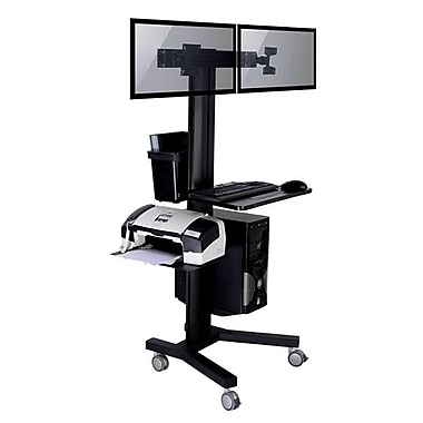 TygerClaw Mobile Display Stand with PC Holder, 27.6