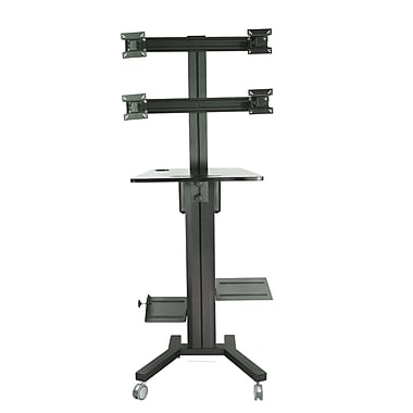 TygerClaw Mobile Display Stand with PC Holder, 42.9