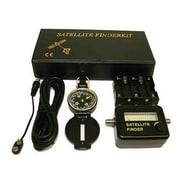 "Digiwave Satellite Finder Kit, 2"" x 5"" x 9"", Black"
