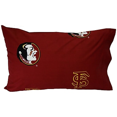 College Covers NCAA Florida State Seminoles Pillowcase (Set of 2); King