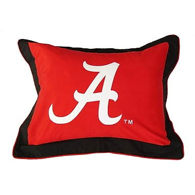 College Covers NCAA Alabama Pillow Sham