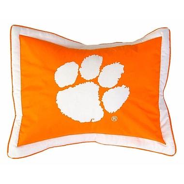 College Covers NCAA Clemson Pillow Sham