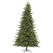 Vickerman Fresh Balsam 7.5' Green Fir Artificial Christmas Tree w/ 750 LED Multi-Colored Lights