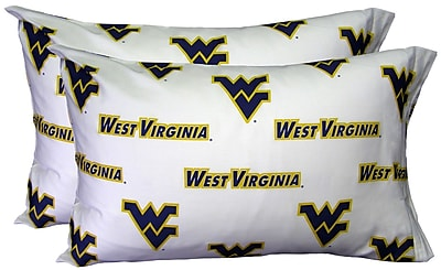 College Covers NCAA West Virginia Pillowcase (Set of 2)