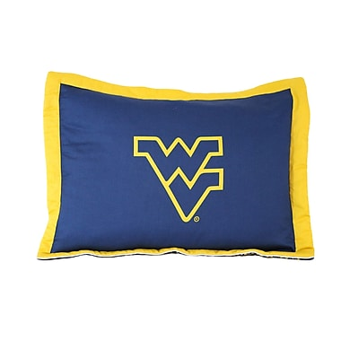 College Covers NCAA West Virginia Pillow Sham