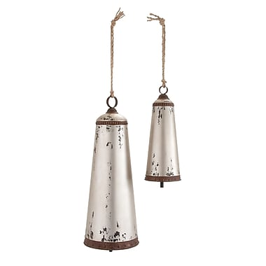 Woodland Imports 2 Piece Traditional Bell Set