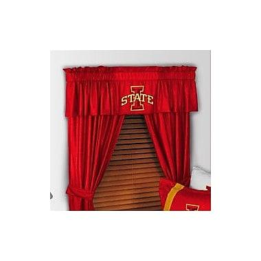 Sports Coverage NCAA 88'' Iowa State Cyclones Curtain Valance