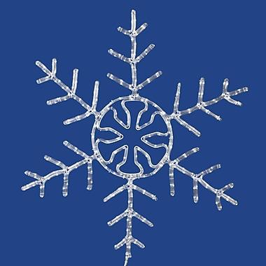 Vickerman Snowflake 400 Light Forked LED Novelty Light