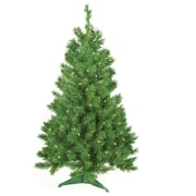 Sterling Inc 3' Green Colorado Spruce Artificial Christmas Tree w/ 100 Clear & White Lights w/ Stand
