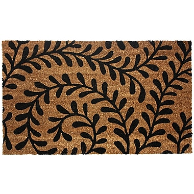 J&M Home Fashions Ferns Doormat