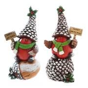 Evergreen Flag & Garden 2 Piece Holiday Birds Garden D cor Oversized Figurine Set